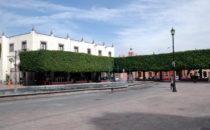 Plaza im historischen Zentrum