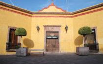 Restaurant im historischen Zentrum, Querétaro, Mexiko