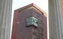 Blick aufs Außenministerium, Mexico City