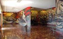 Wandbild im Castillo Chapultepec, Mexico City