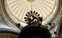 eine Kuppel der Kathedrale, Puebla, Mexiko