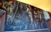 Orozco-Wandbild in San Ildefonso, Mexico City