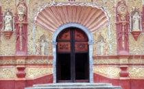 Mission Jalpan Portal, Sierra Gorda, Mexiko