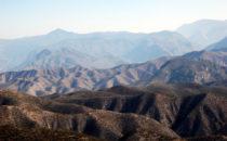 zerklüftete Sierra Gorda, Mexiko