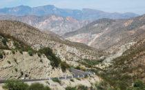 Fahrt durch die Sierra Gorda, Mexiko