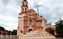 Mission Tancoyol, Sierra Gorda, Mexiko