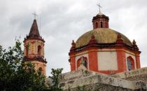 Mission Tancoyol - Kuppel, Sierra Gorda, Mexiko
