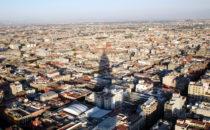 Blick vom Torre Latinoamericana, Mexico City