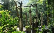 "Skupturengarten ""Las Pozas"" in Xilitla, Mexiko"