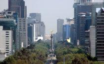 Paseo de la Reforma mit dem Àngel de la Indepedencia, Mexico City