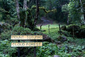 Mount Totumas, Eingang