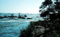 Río Iguaçu, Foz do Iguaçu, Brasilien