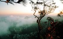Blick vom Corcovado, Rio de Janeiro, Brasilien
