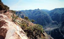 Divisadero, view into the canyon, Copper Canyon, Mexico
