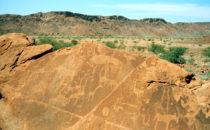 Felsgravuren, Twyfelfontein, Namibia