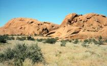 im Spitzkoppe Massiv, Namibia