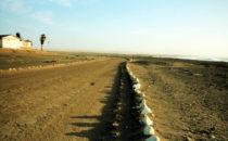 Straße entlang der Skeleton Coast, Namibia