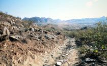 Namibia, Schotterpiste