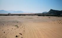 Namibia, Sandpiste