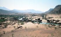 Namibia Flussbett