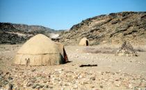 Himba Hütten, Namibia
