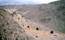 Das Flussbett des Huab, Namibia