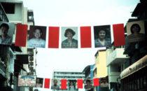 Panama City ehrt seine asiatischen Einwanderer, 2003, Panama