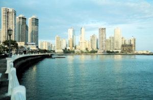 Skyline Panama City, 2003, Panama