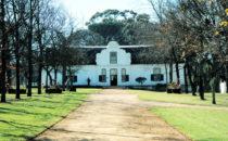 typische kapholländische Architektur, Südafrika