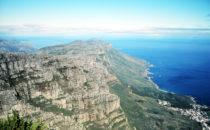 Kapstadt - Blick vom Tafelberg nach Süden, Südafrika