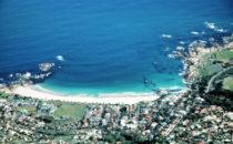 Kapstadt - Blick auf Clifton Beach, Südafrika