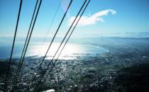 Kapstadt - Blick vom Tafelberg nach Norden, Südafrika