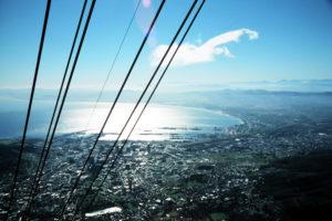 Kapstadt - Blick vom Tafelberg nach Norden