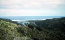 Blick auf Nature's Valley, Südafrika