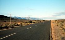 Landschaft in der Karoo, Südafrika