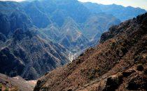 Barrancas del Cobre, Blick in Canyon