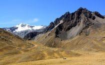 Fahrt von Cusco nach Puno, Peru