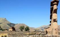 Tempel von Wiracocha in Raqch'i, Peru