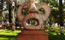 Barichara -Skulptur, Kolumbien