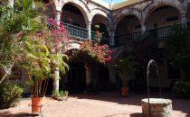Cartagena - Innenhof von La Popa, Kolumbien