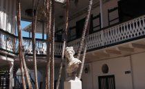 Cartagena - Innenhof der Casa Rafael Nuñez, Kolumbien
