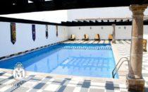 Hotel Morales Pool, Guadalajara, Mexico
