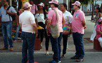 Santa Marta - Weltfrauentag - der Aufruf wird befolgt, Kolumbien