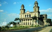 Die alte Kathedrale von Managua