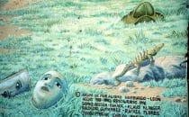 Mural in León, Nicaragua
