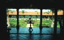 """Innenhof des Hotel """"El Convento"""", León, Nicaragua"""