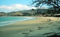 Der Strand von San Juan del Sur, Nicaragua