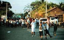 Beerdigung in Granada, Nicaragua