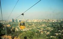 Blick aus der Seilbahn, Santiago de Chile, Chile