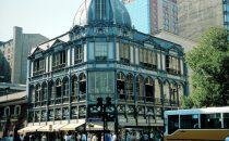 altes Kaufhaus im Zentrum, Santiago de Chile, Chile